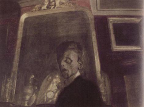 Auportrait au miroir st phane lambert for Autoportrait miroir