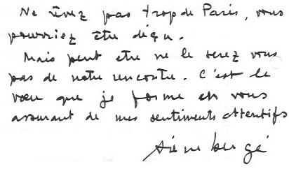 première lettre
